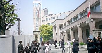 入学式を何度か目撃。ついでにZ武くんも早稲田で発見。