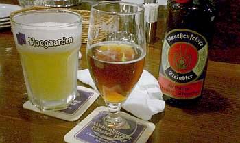 石をスモークしてビールの原液に入れてスモーキーな味を出してるそうな。
