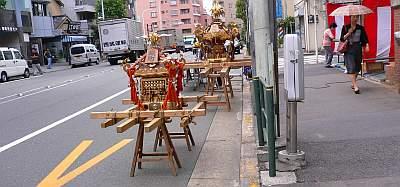 神楽坂近辺はお祭り