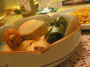 そろそろおでんと日本酒の季節ね。