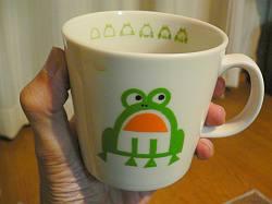 が〜ん、こんなかわいいカップがあるなんて。