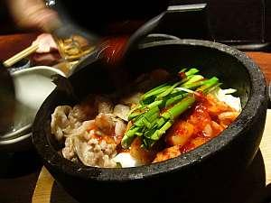 キムチ野菜炒めだっけ?ビビンバじゃない料理。