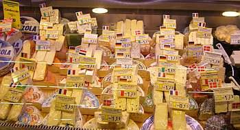 チーズの一部。