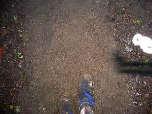こんなズブズブのところが多い中、71.5キロ走る。
