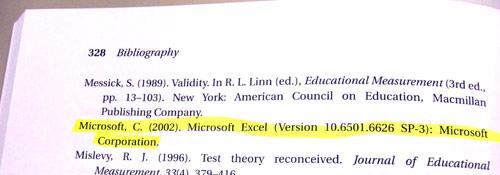 マイクロソフトが引用(?)されてる〜。