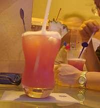 これまで飲んだ中では、シャングリラのシンガポールスリングが一番美味しかった。