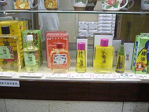 椿油も有名らしい。
