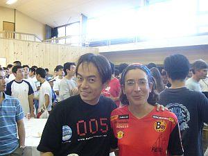 スペインの選手。マレーシアでも一緒に撮った覚えが。