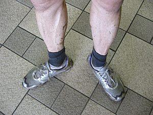 足元が悪いのも手伝って、今日も盛大に足が汚れてしまった。