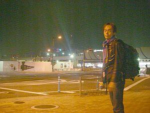 福知山の駅前は寂しい。