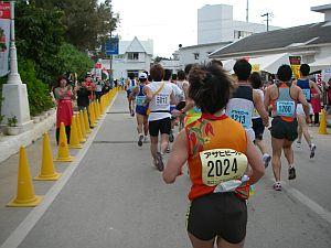 目標タイムは2時間半の位置でスタート。