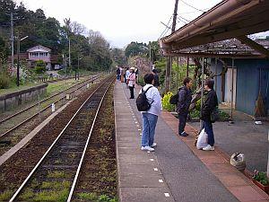 雰囲気のいい駅。