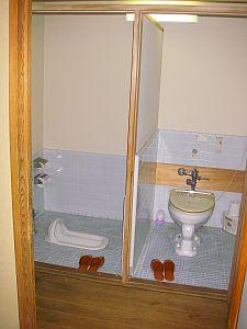 一つの部屋なのに、選べる2つのトイレ!