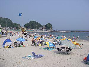 興津海岸。