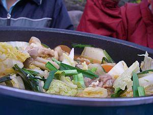 ワタシ初挑戦のキムチ鍋