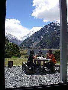 カフェからの眺め。
