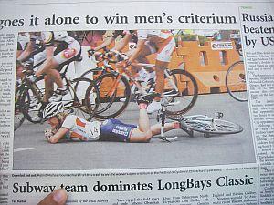 ケプラーチャレンジのときの新聞。よく撮れたなぁ。