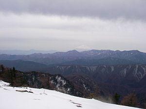 ずーっと富士山が見えていた。
