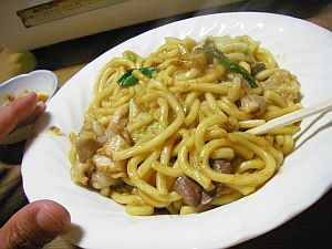 こってりと美味しいが、麺は柔らかめ。
