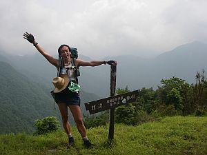 最後の登りは休憩してしもた。