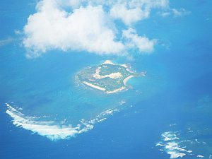 いろんな島があって綺麗。