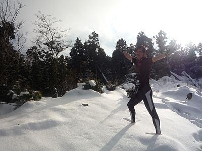 ひさしぶりの雪景色