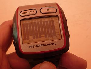 GPSは受信し放題。±2mは初記録じゃ。
