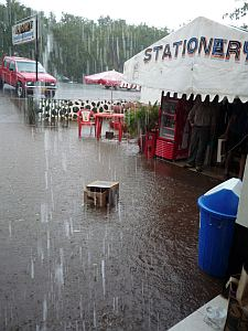 洪水となる。STATIONARYが消してある(笑)
