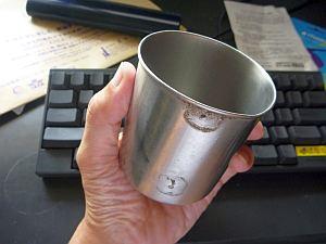 取っ手が取れたカップ。