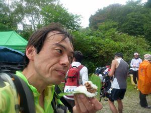 これが問題の笹寿司。不穏な顔しとる(笑)