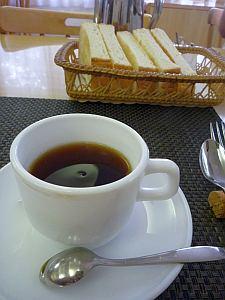 コーヒーもヨロし。
