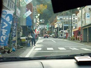 街中にはたくさんの幟が。