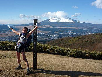 富士山とワタシ。