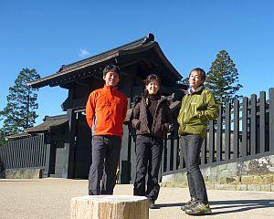 観光組も寒かった(>_<)。