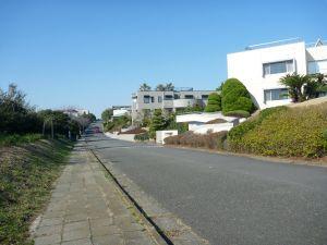 田舎並の広大な宅地利用状況。