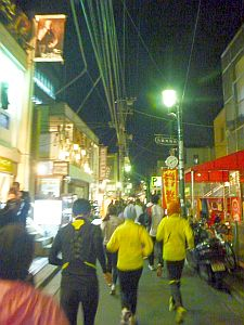 東京マラソン後初の練習会。