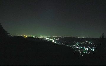 夜景を見放題。