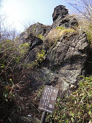 大仏岩は、たしかに大仏じゃ。