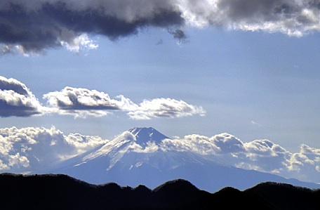 富士山も良く見える。
