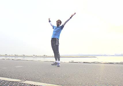 葛西臨海公園の波打ち際。