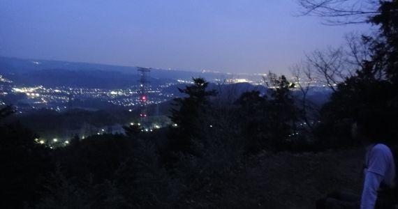 夜景にみとれると寒くなる(>_<)