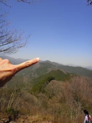 棒ノ折山はここ。
