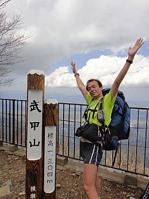 初めての武甲山。