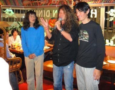 山村レイコさん、リッカさん、かぶちゃん。