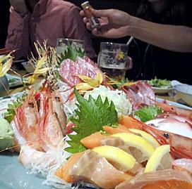 日本酒が美味しかった。