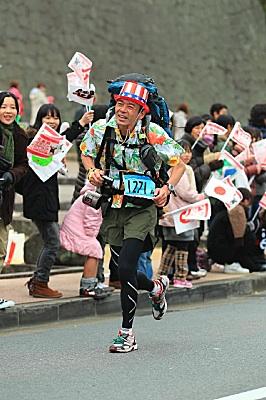 熊本城マラソンの写真が公開された。