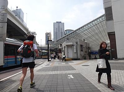 横浜通過〜