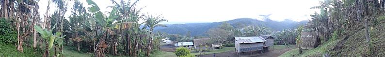 丘陵部の住宅地