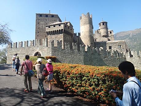 手頃な大きさの城