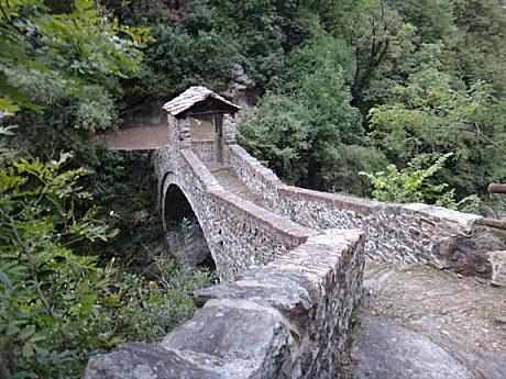 絵になる石の橋